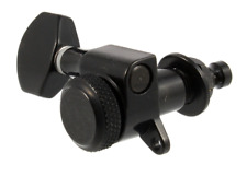 Allparts Black LOCKING 3x3 Mini Electric Guitar Tuners/Machines TK-7576-003