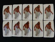 NEW (10) Vintage Wrestling Collectible BIG JOHN STUDD Promotional Stickers, 1985