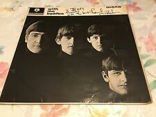 PAUL McCARTNEY SIGNED AND INSCRIBED WITH  THE BEATLES  PARLOPHONE MONO PMC 1206