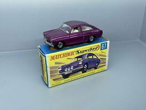 No. 51 - altes Matchbox / Superfast Modell - Volkswagen 1600TL   / 4 C -093