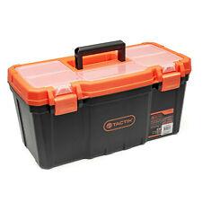 TACTIX Werkzeugkasten Kunststoff Werkzeugkoffer Toolbox Kiste groß Leer
