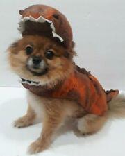 Halloween costume Dinosaur T-Rex for Dogs Size Small Orange & Black Petco