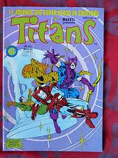BD TITANS N° 111  - Avril 1988 - SEMIC - MARVEL - Le journal des super-héros
