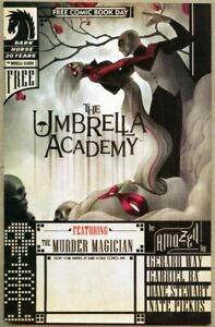 Umbrella Academy Free Comic Book Day 2007 vf/nm 9.0 FCBD / Gerard Way 1st app