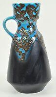 Dümler Breiden Keramik Fat Lava Henkel Vase Pottery D&B Vintage Space Age 12AA1