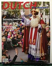Dutch Magazine Welcoming Sinterklaas Festive Recipe Nov/Dec 2015 FREE SHIPPING J