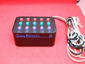 Vintage Execudyne ZE15 Zany Effects Phone Sound Effects Machine With Cords