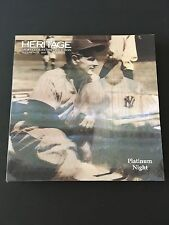 Heritage Platinum Night Sports Auction Catalog August 2017 Lou Gehrig Yankees