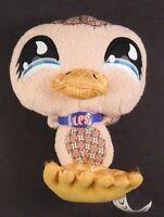 LPS Littlest Pet Shop PINK Duck 2007 Stuffed Animal Toy Hasbro