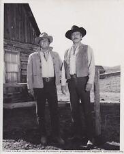 """Vintage Press Photograph DEAN MARTIN & ROCK HUDSON - """"SHOWDOWN"""" - UNIVERSAL"""