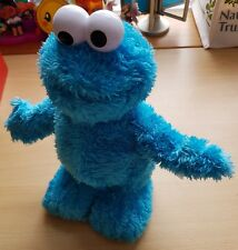 Blue Tickle Me Extreme Cookie Monster Interactive Toy Fisher Price