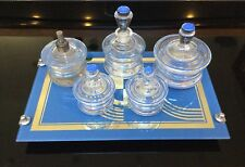 Art Deco Jazz Age Tray Dressing Table Set, Bauhaus, Jungenstil Vanity Set