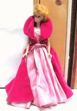 L@@K Vintage 1962 Midge 1958 Barbie Doll BLONDE Hair Bubble Cut Blue Eyes rare