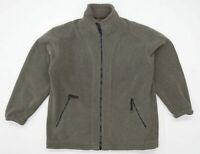 George Mens Size M Fleece Grey Midweight Jacket