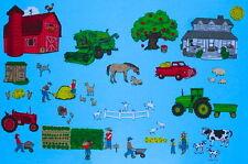 Felt Board Set *Farm Friends* 50+pieces. Tons of animals