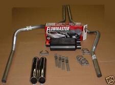 Dodge Dakota 97-05 Dual Exhaust Kit + Flowmaster Super 44 + Rolled Tips
