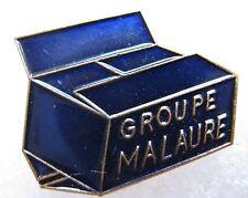 Pin's Groupe MALAURE emballage carton boite #1291