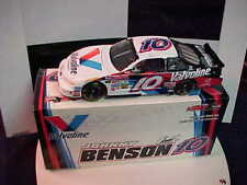 BRAND NEW 2002 JOHNNY BENSON #10 VALVOLINE 1/24 CLEAR WINDOW ACTION CAR