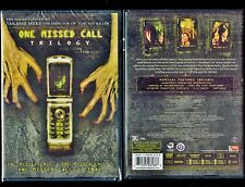One Missed Call Trilogy - Brand New 3-Disc Set - Japanese Horror