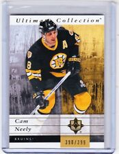 11-12 2011-12 ULTIMATE COLLECTION CAM NEELY BASE CARD /399 3 BOSTON BRUINS