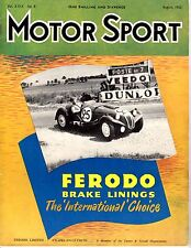 Motor Sport August 1953 Vol. XXIX No 8