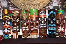 NEW Hand Crafted Tiki Bar / Polynesian Tiki Mask / Totem MANY VARIETIES