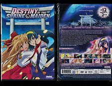 Destiny of the Shrine Maiden: Complete Collection (Brand New 2 DVD Anime Set)