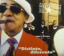 CD DE JUAN MARCOS / AFRO CUBAIN ALL STARS - distinto, diferente
