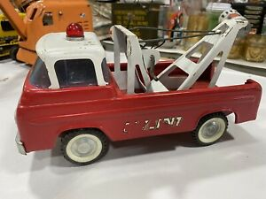 60's VINTAGE NYLINT-FORD  EMERGENCY TOW TRUCK-WRECKER-