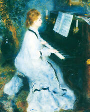 Woman At The Piano- Renoir - GICLEE ART PRINT 12 x 15 Many Sizes