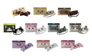 Plush Animals Sleep Eyemask ( Pug, Golden/ Brown Labrador Dog, Cat or Bunny )