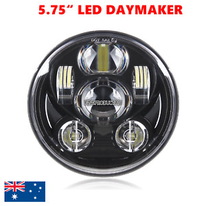 """Motorcycle 5.75"""" LED DAYMAKER projector headlight Harley Sportster XL 1200 883"""