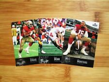 1997 Upper Deck Legends San Francisco 49ers TEAM SET Joe Montana