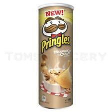 New Pringles Mushroom & Cream Flavor Potato Chips 165g 5.8oz