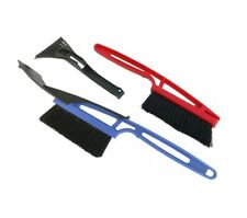 3 In1 Long Handle Snow Removal Scraper Squeegee Brush Ice Shovel Car Vehicle S21