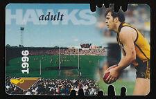 1996 Hawthorn Membership Season Card Jason Dunstall Hawks ticket
