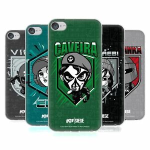 TOM CLANCY'S RAINBOW SIX SIEGE CHIBI OPERATORS GEL CASE FOR APPLE iPOD TOUCH MP3