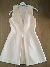 Keepsake apricot plunge v neck dress - size S