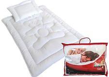 Baby Set Bett Kinder Bettdecke Set Steppbett+Kissen100x135/40x60 Premium Bärchen