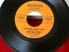 BOBBY BORIS PICKETT~MONSTERS' MASH PARTY~MONSTER MASH~GARPAX 44167~ NOVELTY