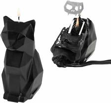 Black Kisa Cat PyroPet Candle