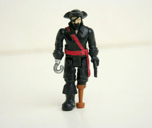 Matchbox Replacement Captain Black Beard Figure from Pirate Ship Mega Rig System