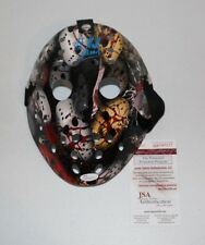 Kane Hodder Signed Autographed Jason Voorhees Custom Jason Mask Friday the 13th