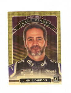 2021 JIMMIE JOHNSON DONRUSS RACE KINGS VINYL  1/1