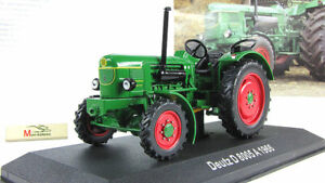 Tractor Deutz D 8005 A 1966 Hachette. Diecast Metal model Scale 1:43. NEW. A