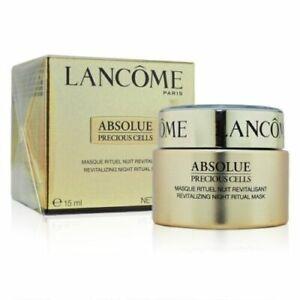 Lancome Absolue Precious Cells Revitalizing Night Ritual Treatment 15ml NIB