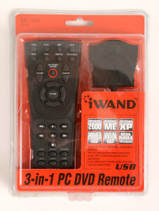 NEW Mythix MI-350 iWAND 3-in-1 PC DVD Remote - MIB in Sealed Package