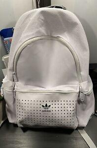 Adidas Women's Rucksack Originals Tennis, White, 33 x 47 x 18 cm, 28 Liter