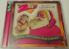 Z100 MORNING ZOO PORTLAND OREGON CHRISTMAS 1998 CD SANTA VIAGRA COMEDY PARODY VG