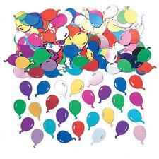 Confettis de table ballons métallisés multicolores Sachet de 14g decoration fete